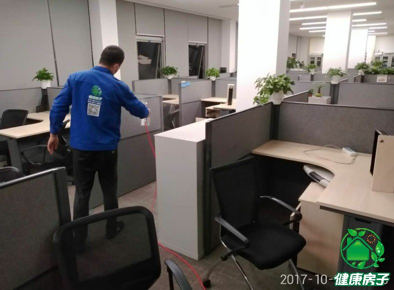 北京专业除甲醛公司健康房子施工现场